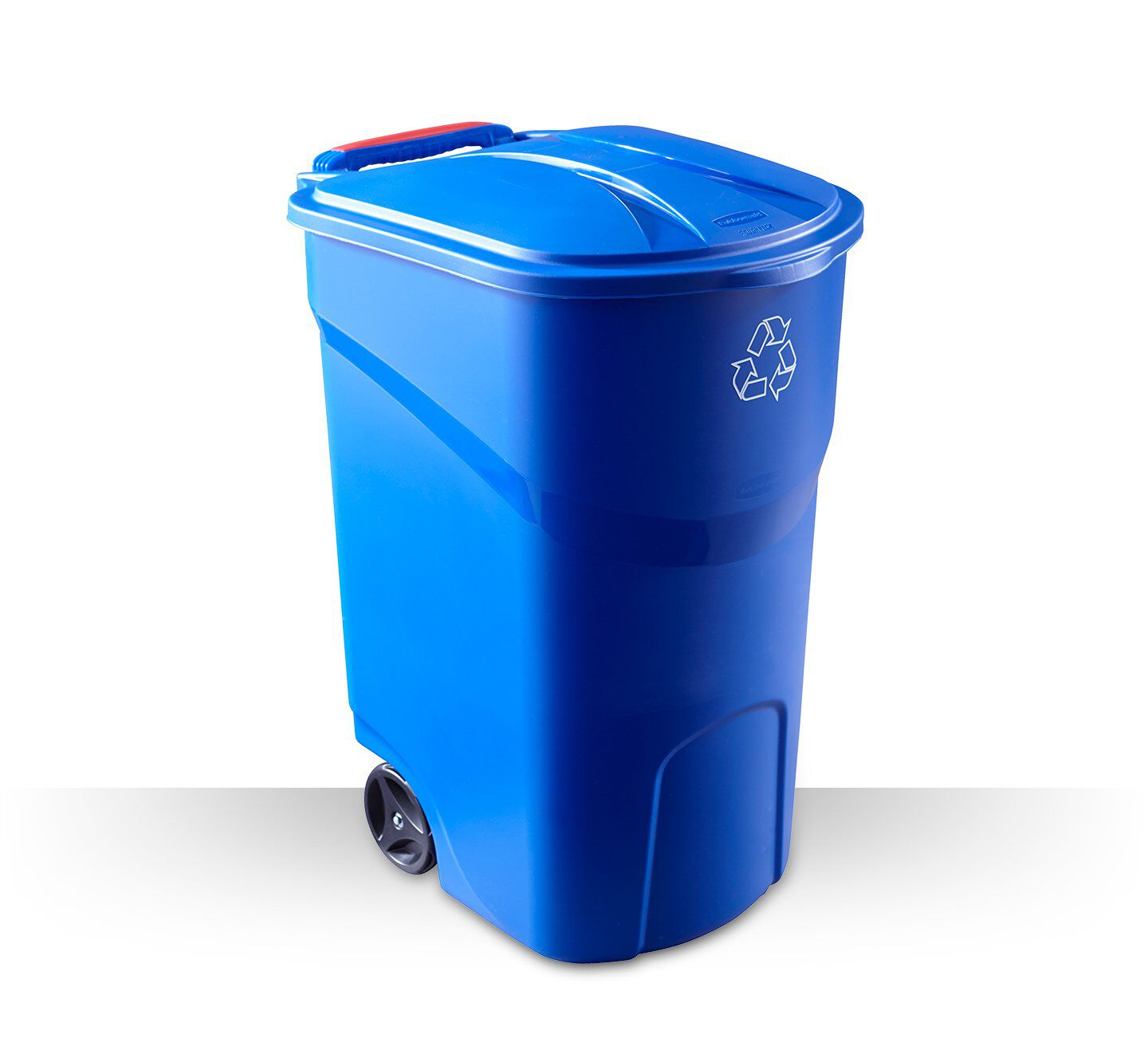 Trash and recycling bin