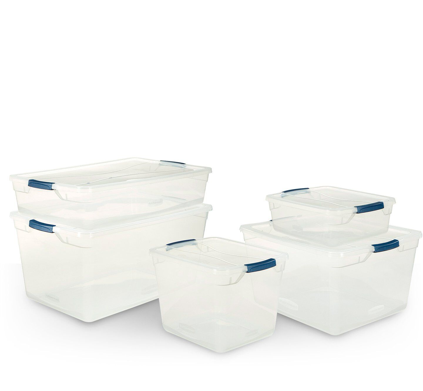 clever store storage container totes