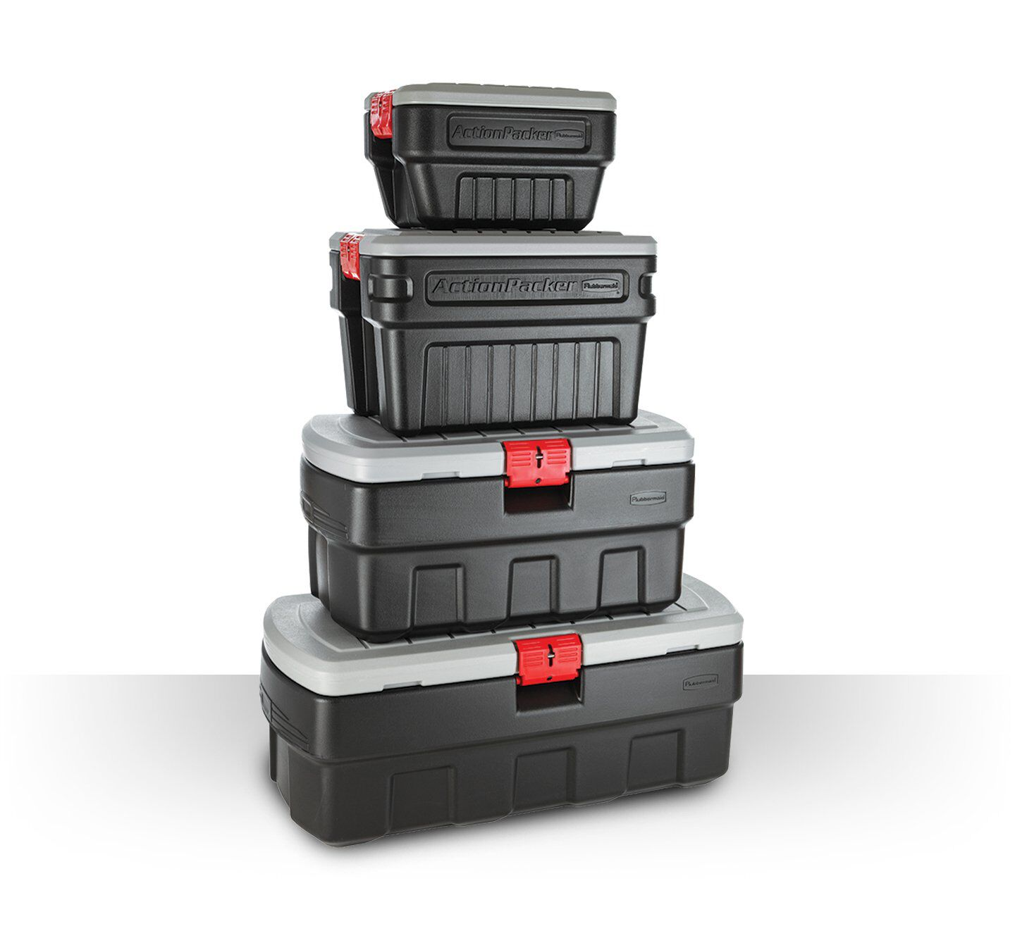 action packer storage container totes