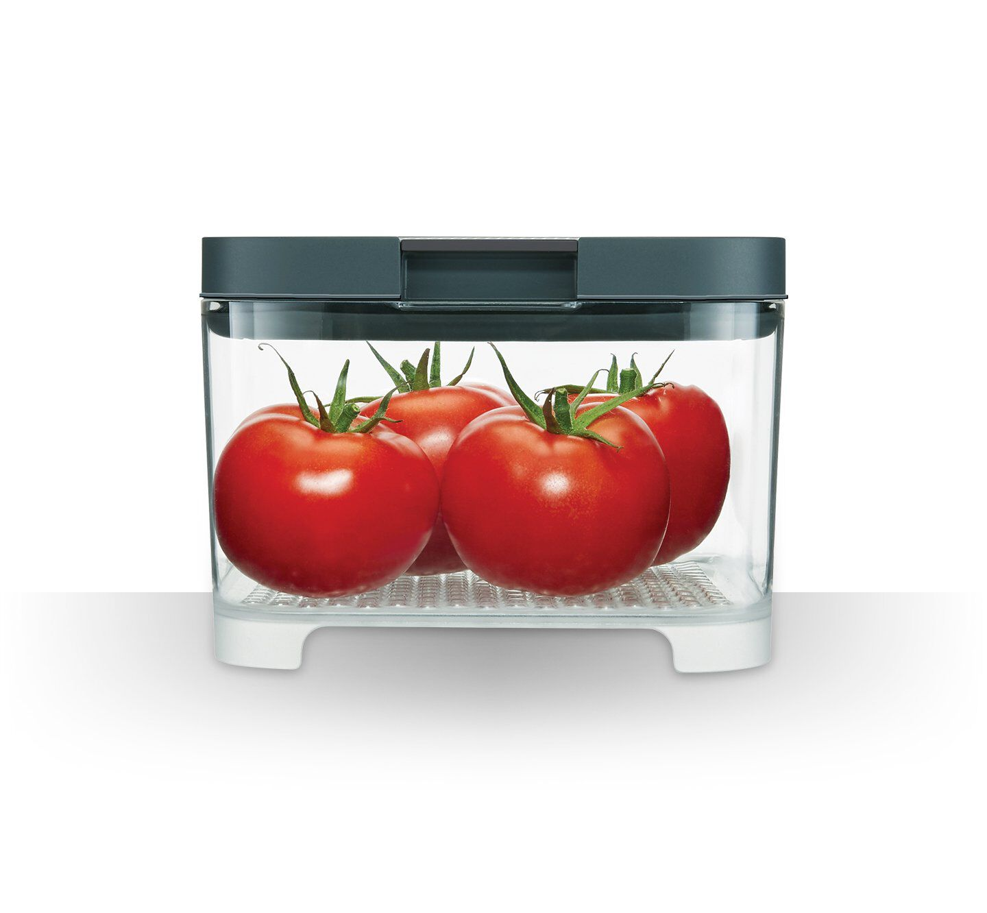 Rubbermaid FreshWorks countertop produce storage containers tomatoes