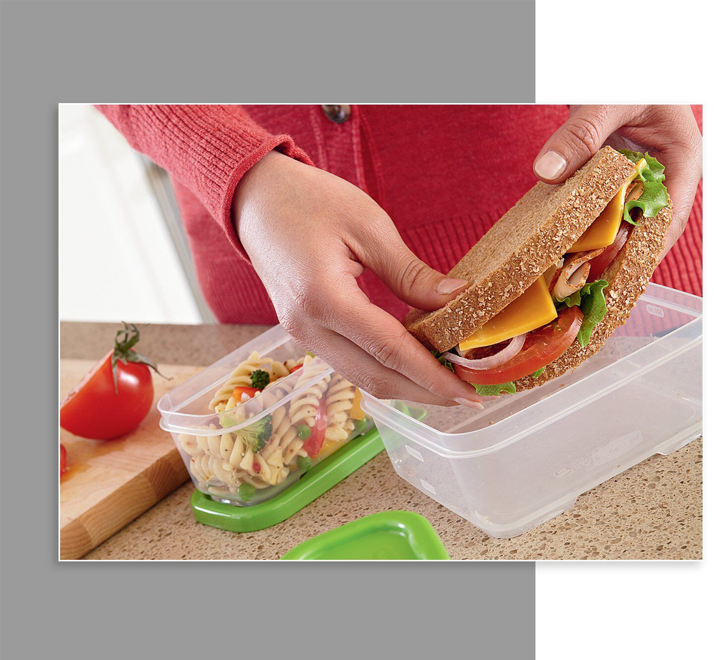 Rubbermaid LunchBlox food storage container