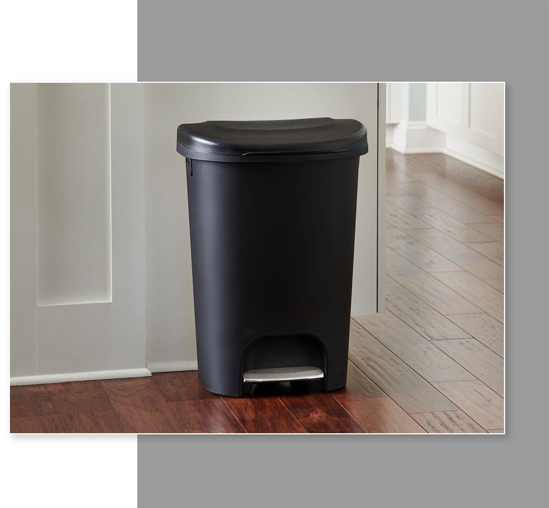 step on waste bin