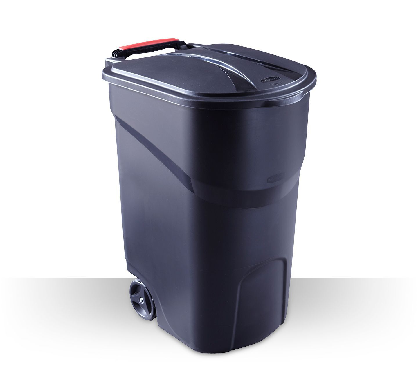 garbage and recycling bin